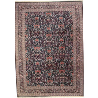 Pasargad N Y Fine Sino Persian Mostofi Design Hand-Knotted Rug - 10' X 14'