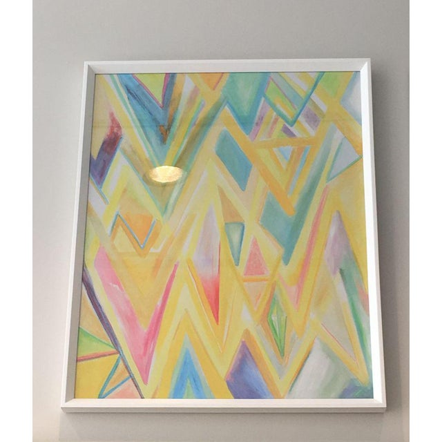 "Framed ""Peaks 4"" Print - Image 2 of 4"