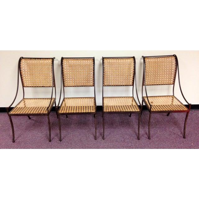John Vesey Mid-Century Cane Back Chairs - Set of 4 - Image 5 of 10