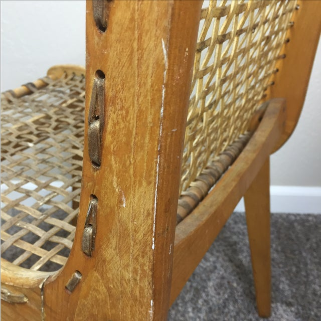 Tubbs Oak & Rawhide Side Chairs - A Pair - Image 10 of 11