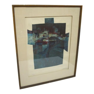 Sunsol Alvar Signed Embossed Lithograph