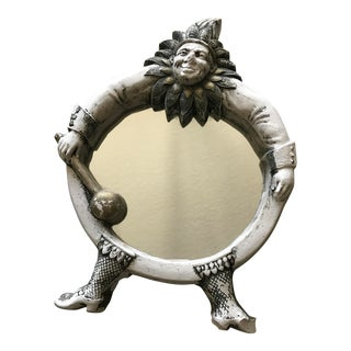 Vintage French Jester Mirror