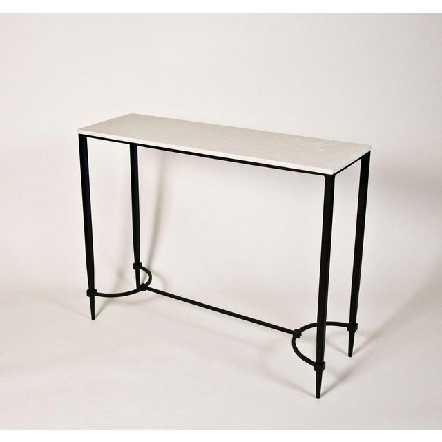 Mismatched Fuller Console With White Marble - Image 3 of 3