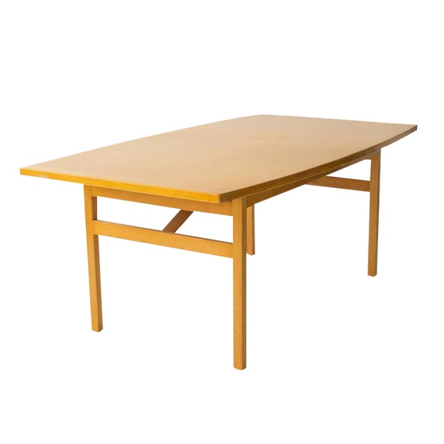 Jens Risom Dining Table with Leaves - Image 1 of 6
