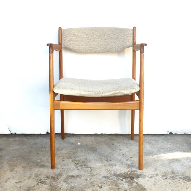 Image of Danish Style Mid Century Dining Chairs - Set of 6