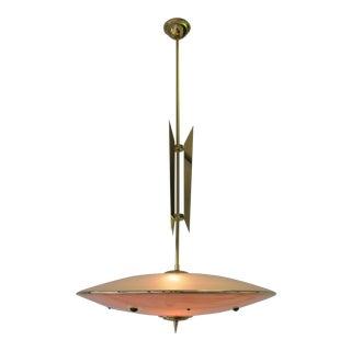 Stunning Pendant Lamp, Italy, 1950s