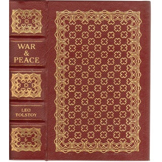 """War and Peace"" 1981 Book By Leo Tolstoy"