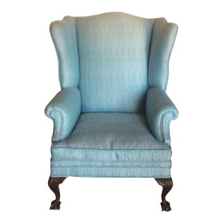 Like New Vintage Wing Back Chair