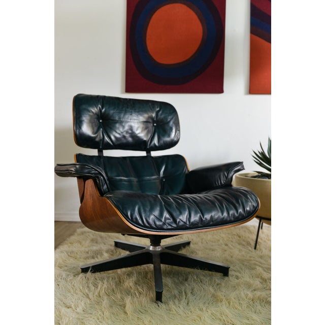 original herman miller eames 670 lounge chair chairish. Black Bedroom Furniture Sets. Home Design Ideas