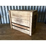 Image of Vintage Wood Industrial Box