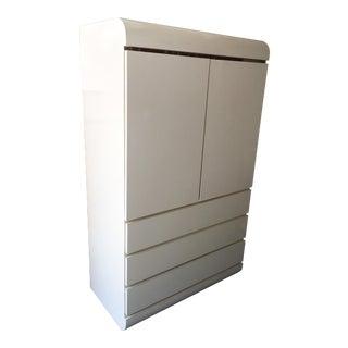 Art Deco Revival Armoire Cabinet