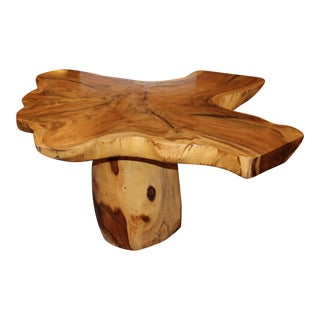 Teak Free Form Center Table