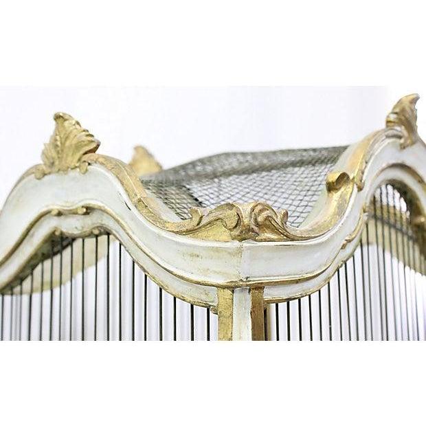 Florentine Birdcage & Pedestal - Image 6 of 7