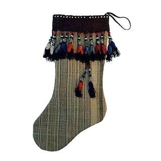 Antique Tassel Camel Sack Christmas Stocking