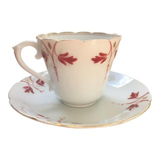French Demitasse Cup and Saucer