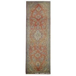 """Vintage Persian Hamedan Runner Rug - 3'3"""" x 13'1"""""""