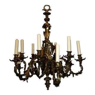 Antique Chandelier. Louis XV Chandelier