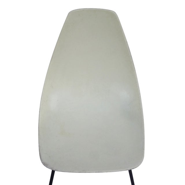 Vintage 1960s Fiberglass Shell Chairs - Set of 4 - Image 4 of 9