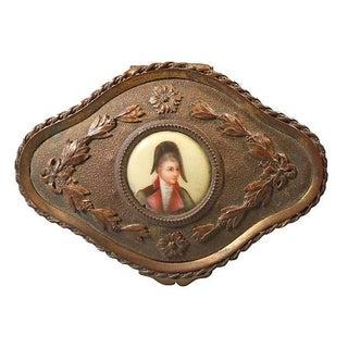 Gilt Napoleonic Box