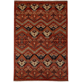 """Ziegler Hand Knotted Area Rug - 6'1"""" X 8'9"""""""