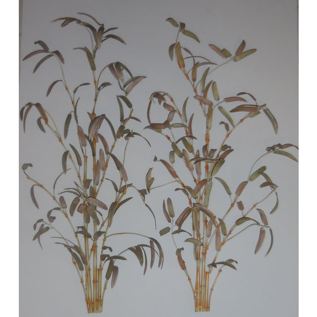 Italian Bamboo Wall Sculptures - A Pair - Image 11 of 12
