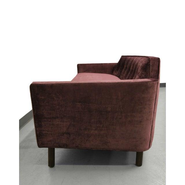 Edward Wormley for Dunbar Sofa in Plum - Image 7 of 8