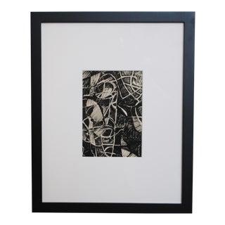 1960s Abstract Drawing, III