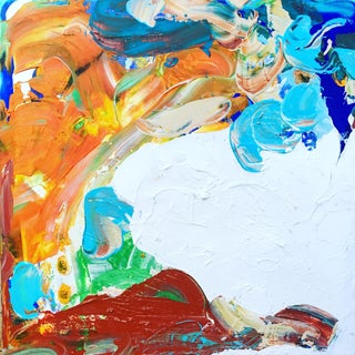 Mathew Izzo Untitled Acrylic on Canvas Painting
