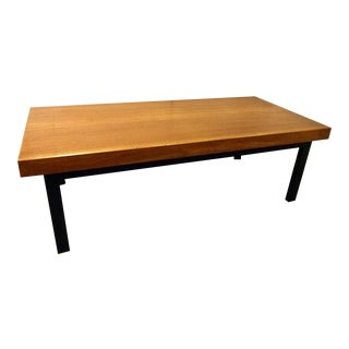 French Mid-Century Industrial Coffee Table / Gallery Bench
