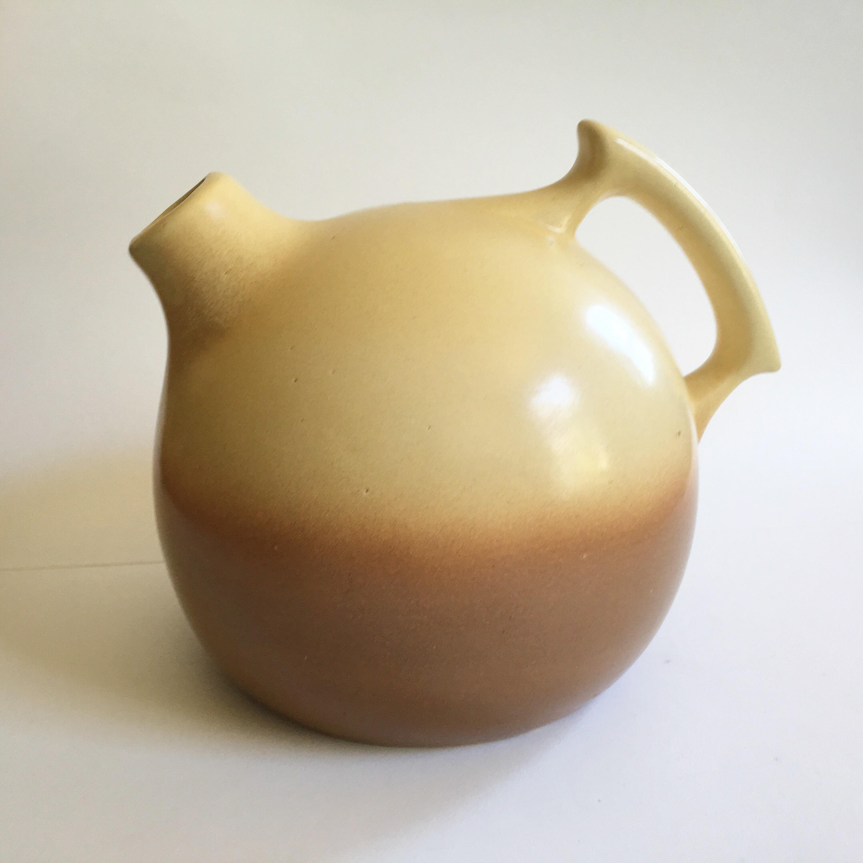 George Rumrill Vintage Two Tone Pitcher 1930 S Chairish