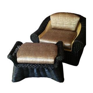 Casa Bella Chair and Ottoman