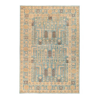 "Ziegler Hand Knotted Area Rug - 6' 3"" X 9' 1"""