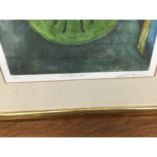 Romero Signed Interior Lithographs - A Pair - Image 6 of 9