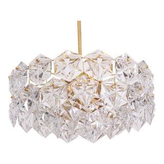 Four-Tier Crystal Glass Kinkeldey Chandelier