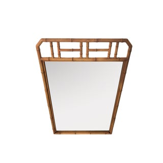 Jungalow Style Large Bamboo Mirror