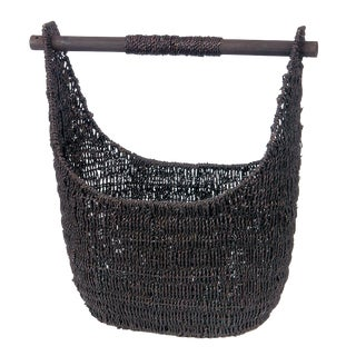 Balinese Black Seagrass Tote