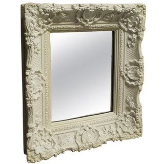 Painted French Style Mirror