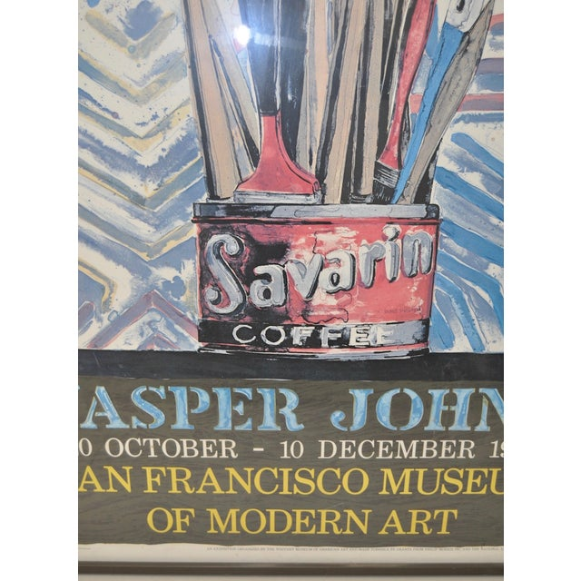 Jasper Johns Exhibition Poster C.1978 - Image 6 of 7