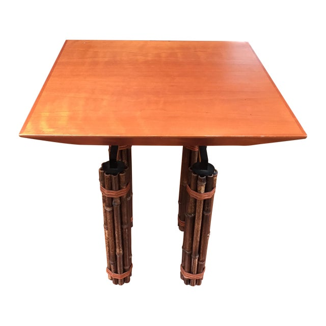 McGuire Huxley Martini Table - Image 1 of 10
