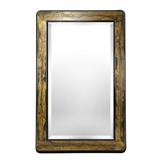 LARGE ETCHED-BRASS MIRROR BY BERNHARD ROHNE FOR MASTERCRAFT, CIRCA 1970S