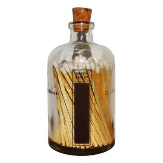 Apothecary Poetry Jar & Matches