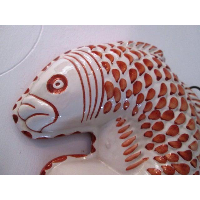 Image of Vintage Italian Bassano Fish Mold