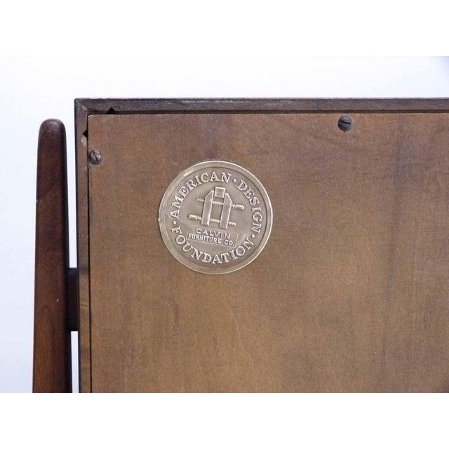 Kipp Stewart for Calvin Furniture Teak & Rosewood Inlay Sideboard - Image 11 of 11