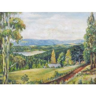 1953 Kalorama Landscape Painting