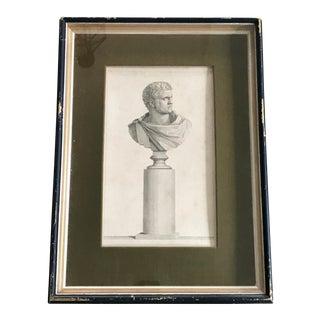 19th C. Roman Figure Bust