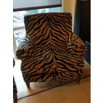 Image of Tiger Print Chairs - Pair