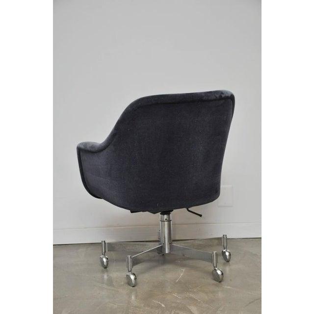 Image of Ward Bennett Desk Chair in Mohair
