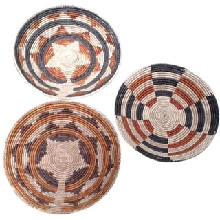 African Tribal Bowls - Set of 3