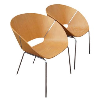 Wolfgang C.R. Mezger Lipse Chairs - A Pair