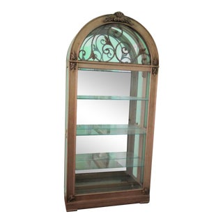 Hollywood Regency Display Case